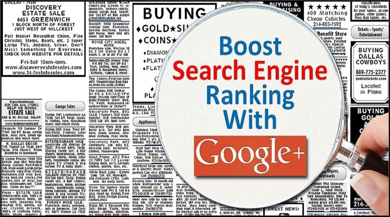 How You Can Improve Your Ranking With Google Plus?