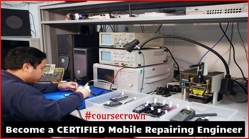 Job Oriented – 90 Days Mobile Repairing Certification Course