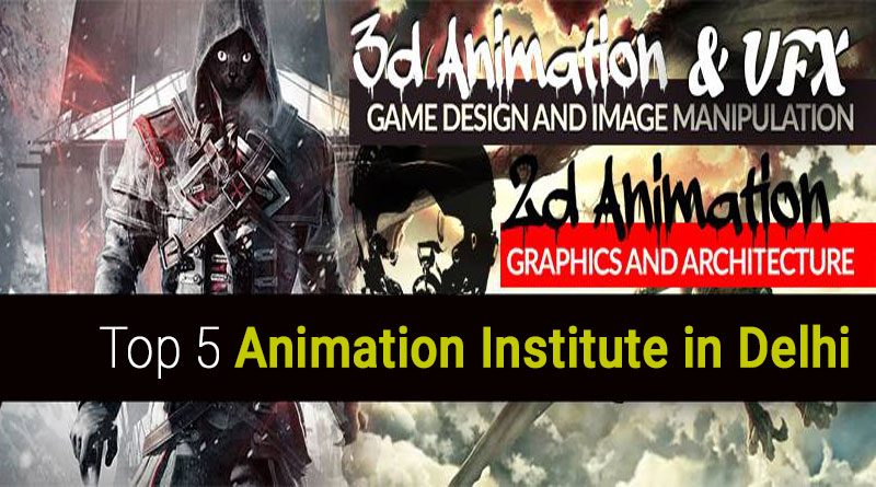 Animation institutes / colleges / studios in Delhi NCR