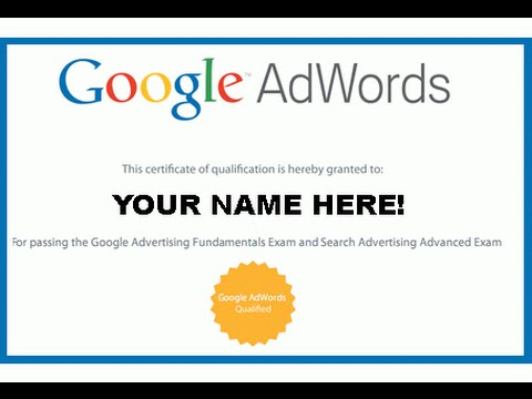 adwords-certifcation-course