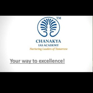 chanakya IAS academy fees