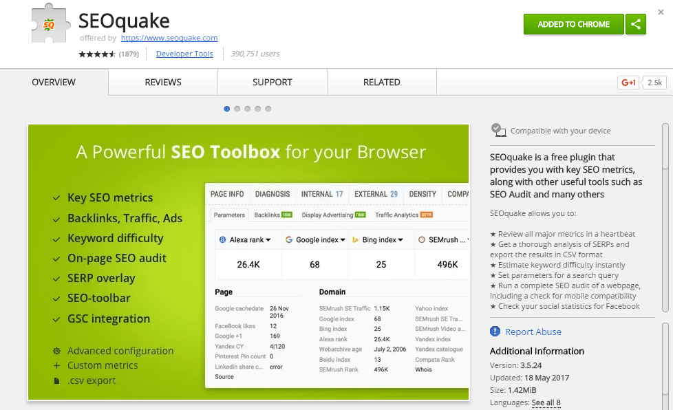 seoquake-browser-extension-chrome