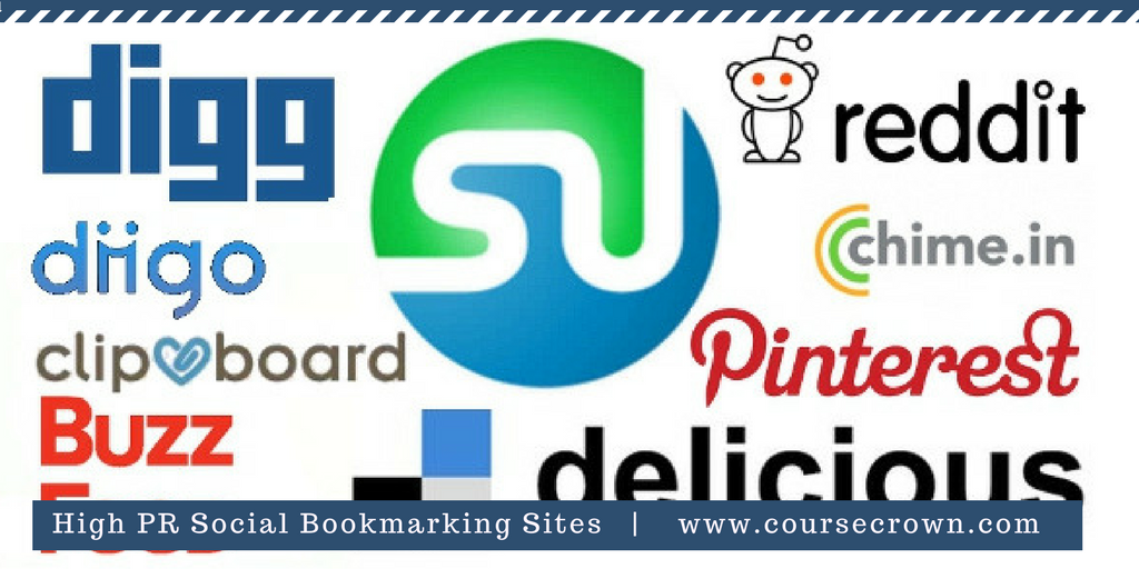 100+ Best Social Bookmarking Sites list | High PR | Do