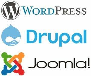 wordpress/joomla